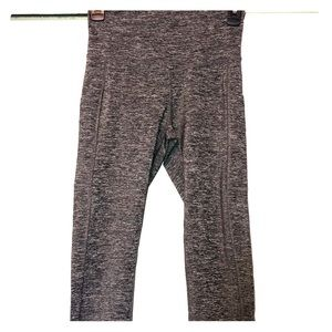 Champion Cropped Yoga Pants with Pockets